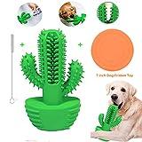 FONPOO Cepillo de Dientes para Perros Juguete para Masticar Perros, 360 ° Limpiador de Dientes de Perro para Cachorros de Perros Medianos (se Adapta a Perros de