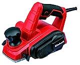 Einhell TC-PL 750 -Cepillo electrónico (Potencia de 750 W, 17000 min-1 RPM), 240 V, Negro, Rojo (ref.4345310)