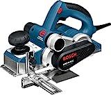Bosch Professional GHO 40-82 C - Cepillo (14000 rpm, ajuste 4 mm, constante electrónica, tope paralelo, en maletín)